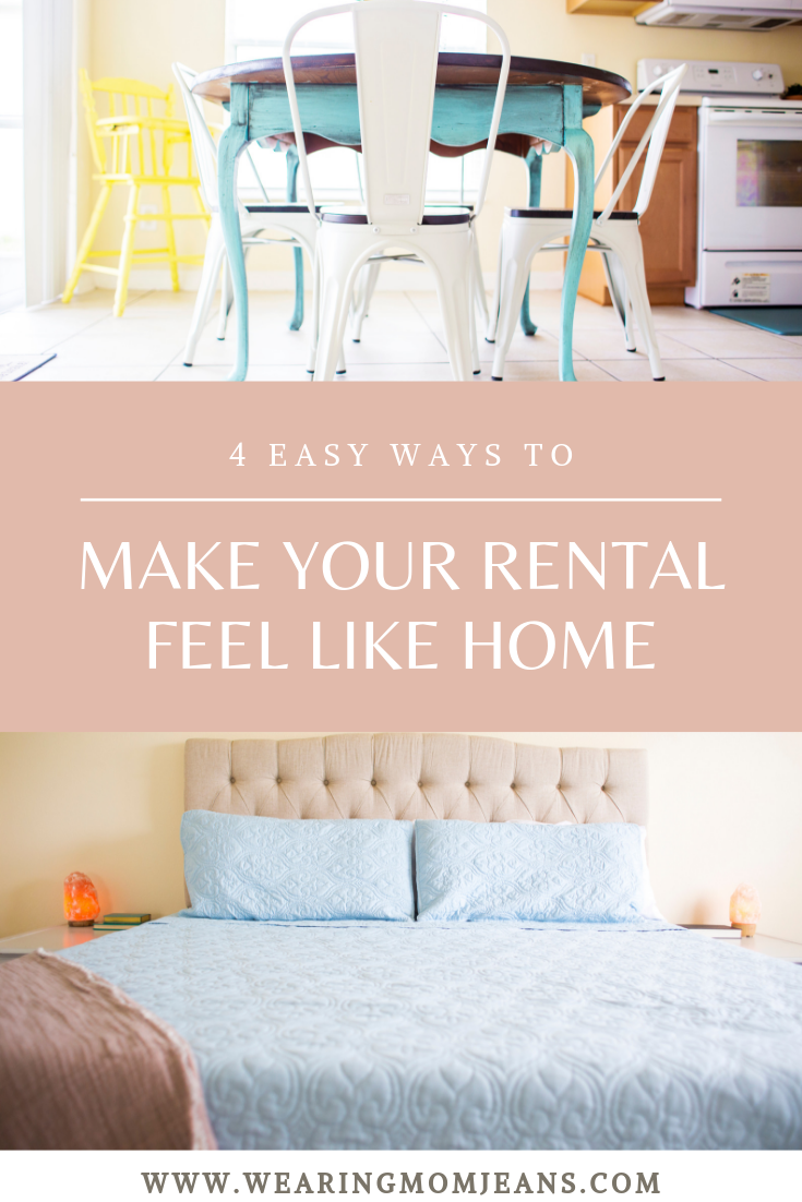 How To Make A Rental Feel Like Home   Part ONE   4 Easy Things You Can Do