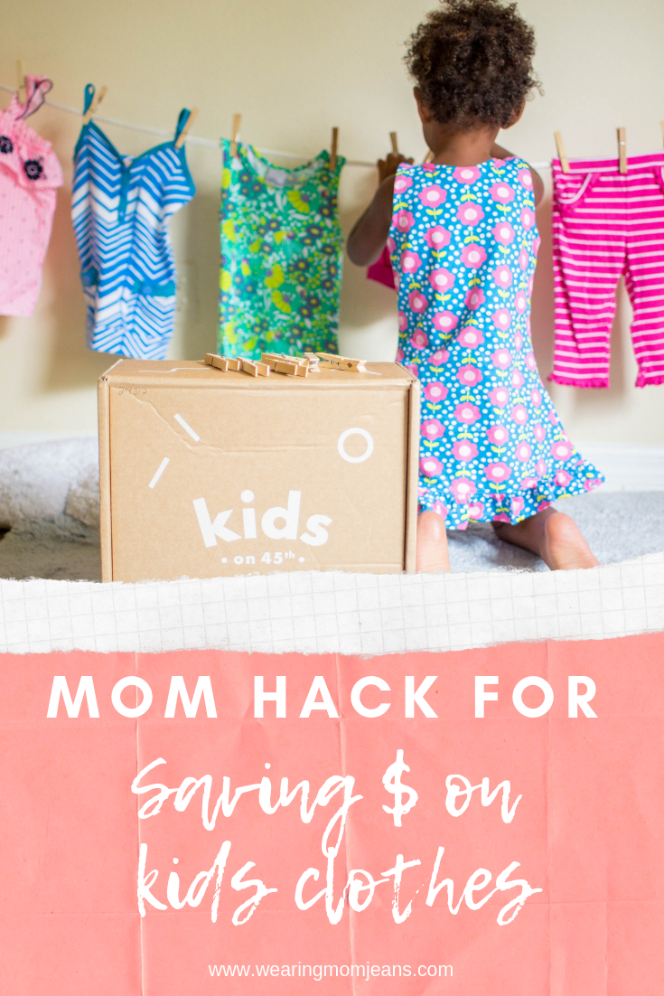 Mom Hack for Saving Money on Kids Clothes