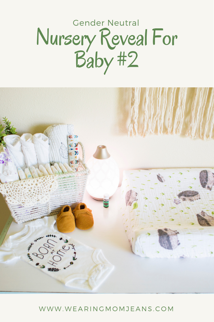 Nursery Reveal For Baby #2. Gender Neutral Nursery!