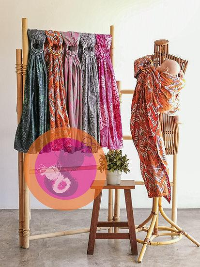 Batik Malaysia Ring Sling