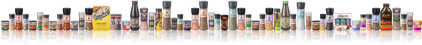 Cape Foods' range of Herbs, Spices and Seasoning products