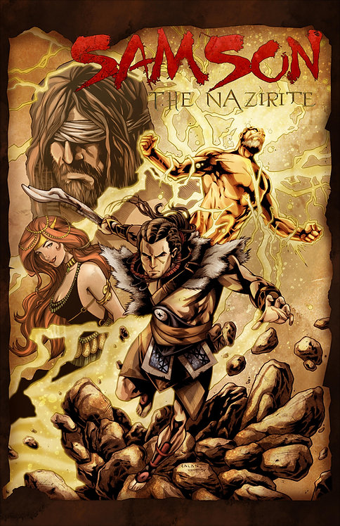 Samson the Nazirite - Free Shipping!