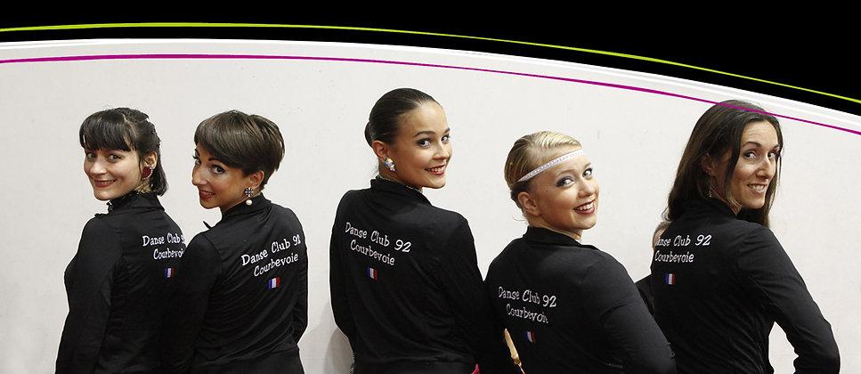 Les compétiteurs - Danse Club 92 de Courbevoie