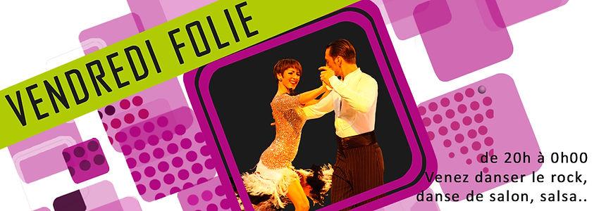 Vendredi Folie - Danse Club 92 de Courbevoie