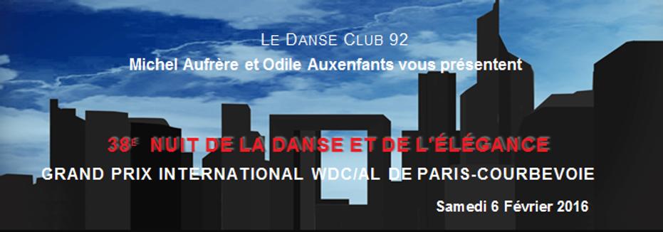 36ème Nuit de la Danse et de l'Elégance - Danse Club 92 de Courbevoie