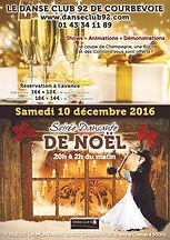 Soirée de Noël - Danse Club 92 de Courbevoie