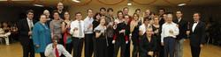 les bénévoles du danse club 92