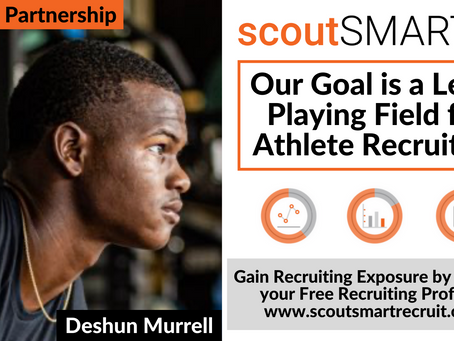 scoutSMART Signs First College Athlete Partnership