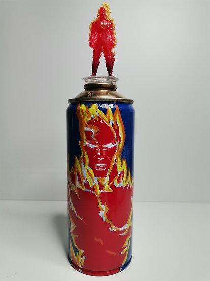 Human Torch BombArt