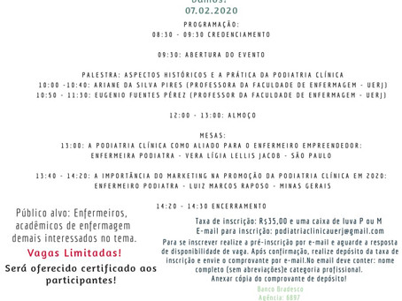 III Seminário de Podiatria Clínica