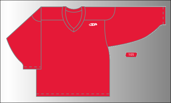 Practice Jersey   Pro - Red