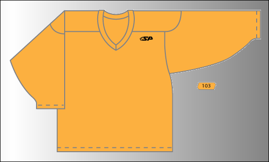 Practice Jersey   Pro - Gold