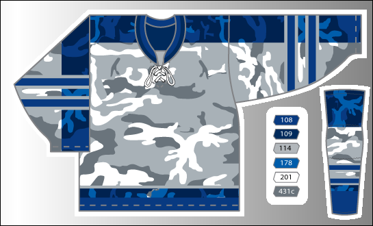 Event Series - Blue Camo - H159