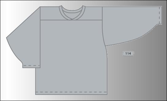 Practice Jersey   Team - Grey