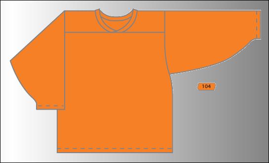 Practice Jersey   Team - Orange