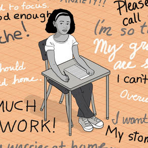 Is School Detrimental to a Student's Mental Health?