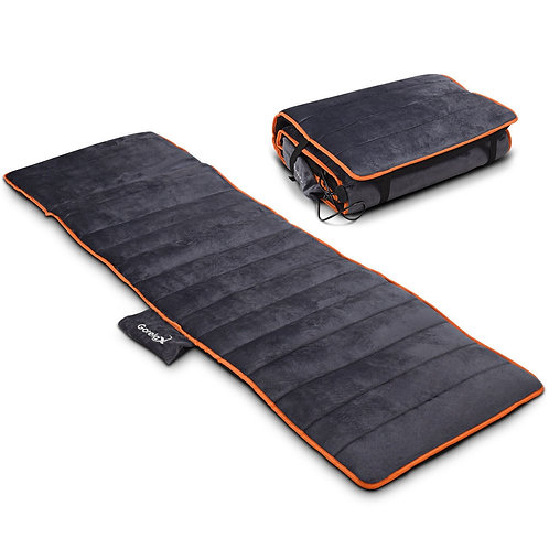 10 Vibrating Motors Foldable Massage Heating Mat