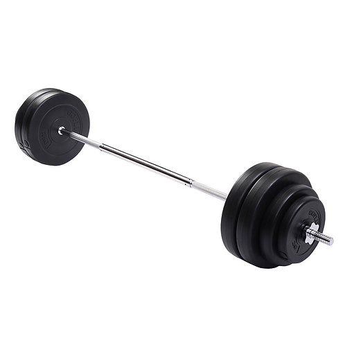 132 lbs Gym Lifting Exercise Barbell Dumbbell Set