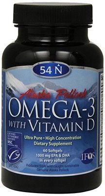 Omega-3 with Vitamin D 1000 MG (60 Caplets)