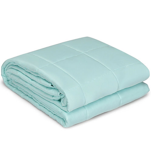 """15 lbs 48"""" x 72"""" Premium Cooling Heavy Weighted Blanket"""