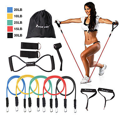 KYLINSPORT Resistance Band Set 12 pcs