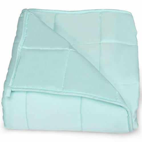 """7 lbs 41"""" x 60"""" Premium Cooling Heavy Weighted Blanket"""