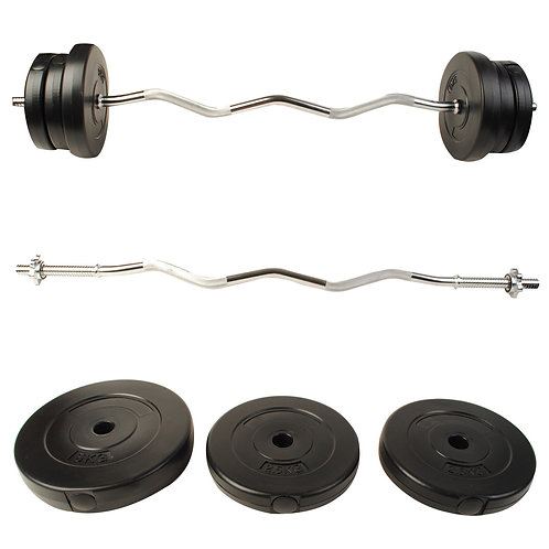 Olympic Gym Lifting Exercise Barbell Dumbbell Weight Set