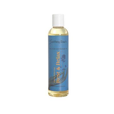 Soothing Touch Massage Oil Rest and Relax (1x8oz)