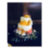 40th wedding anniversary cake, carrot ca