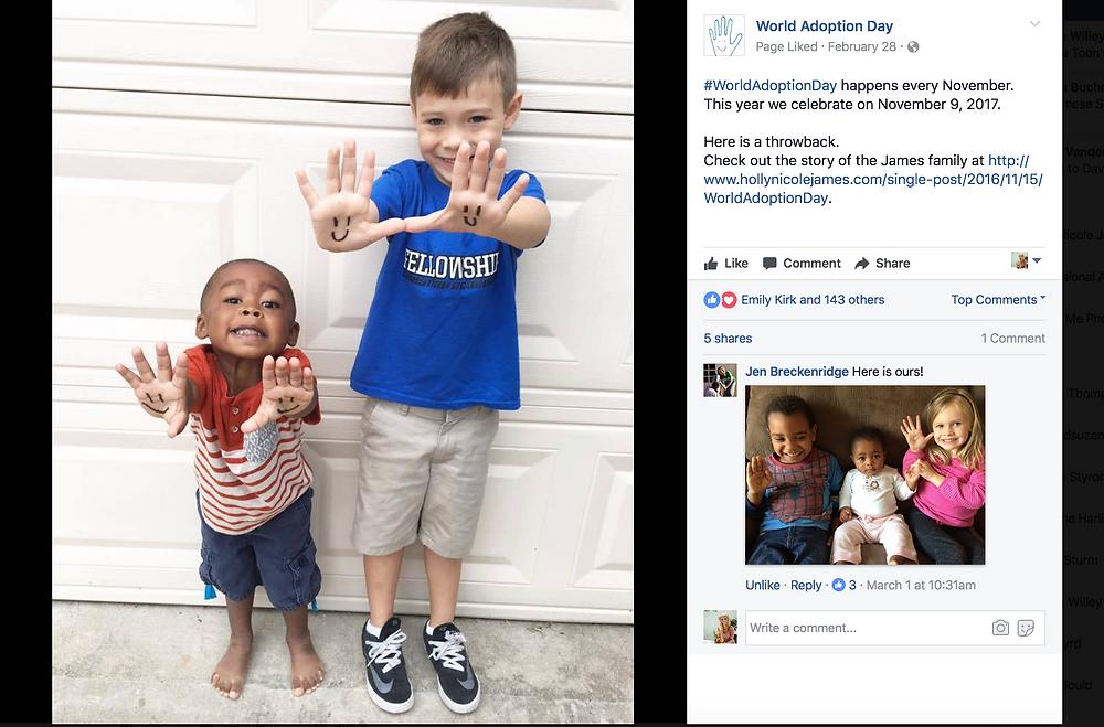 World Adoption Day Share - HNJ