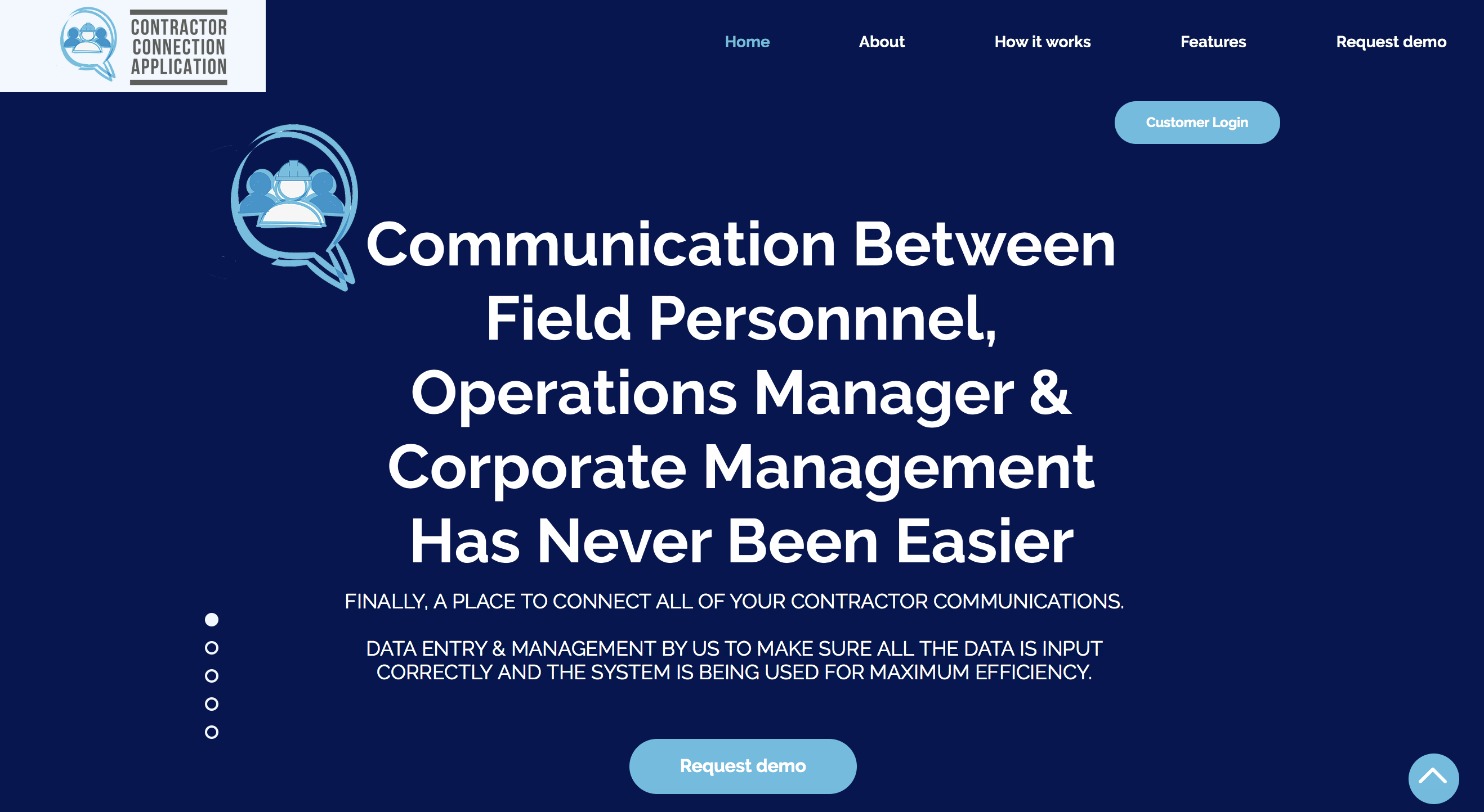 Contractor Connection Application