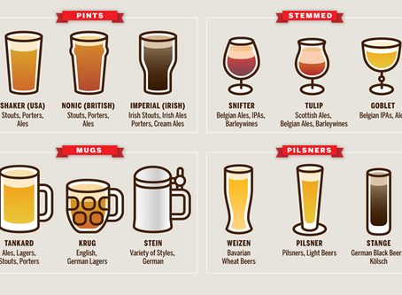 Does a beer glass affect your experience?