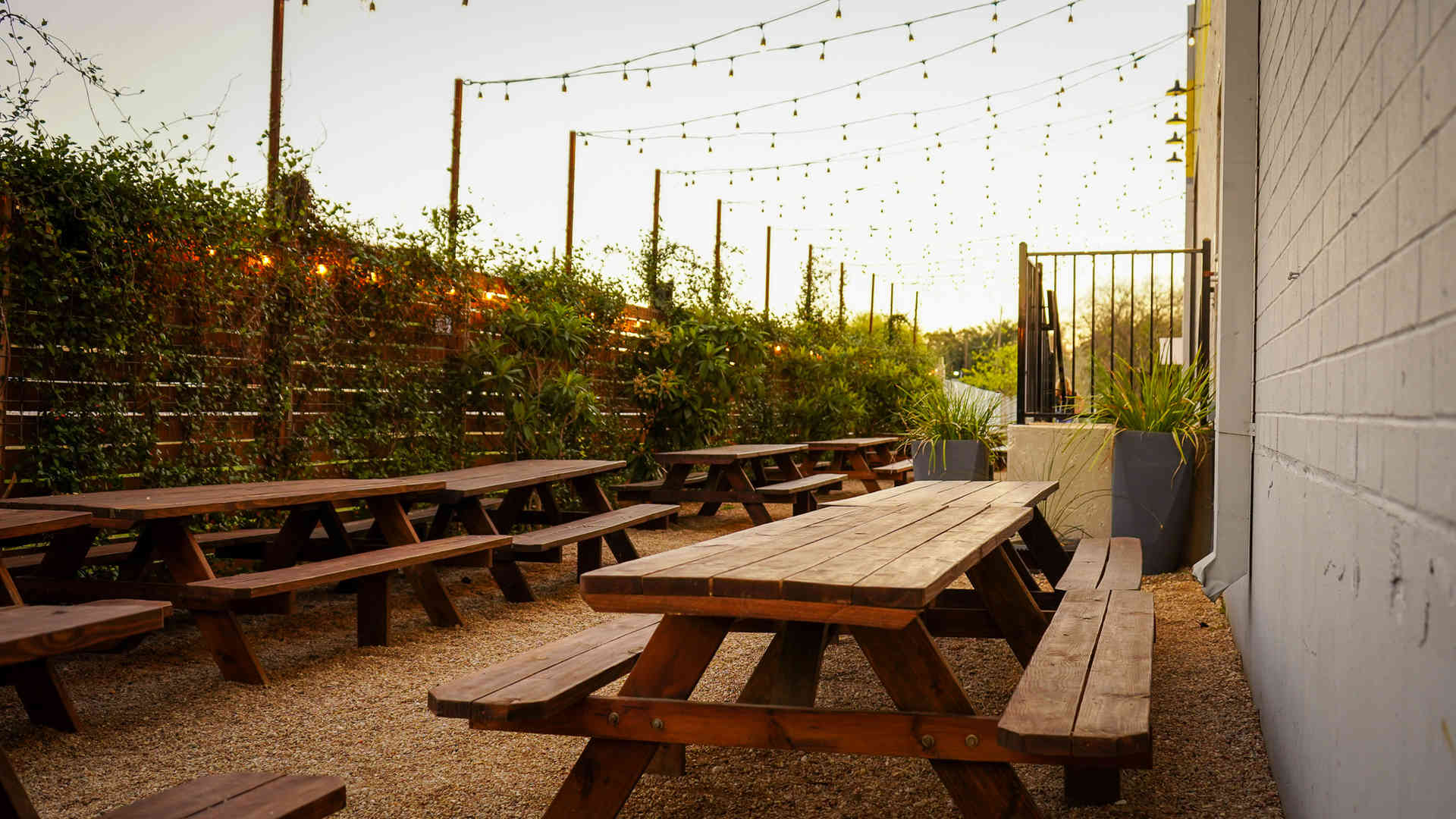 Your new favorite beer garden.