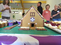 Scout Hut cake