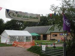Sid Vale Scout Hut entrance