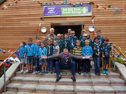 Jeremy Vine with the Scout Group