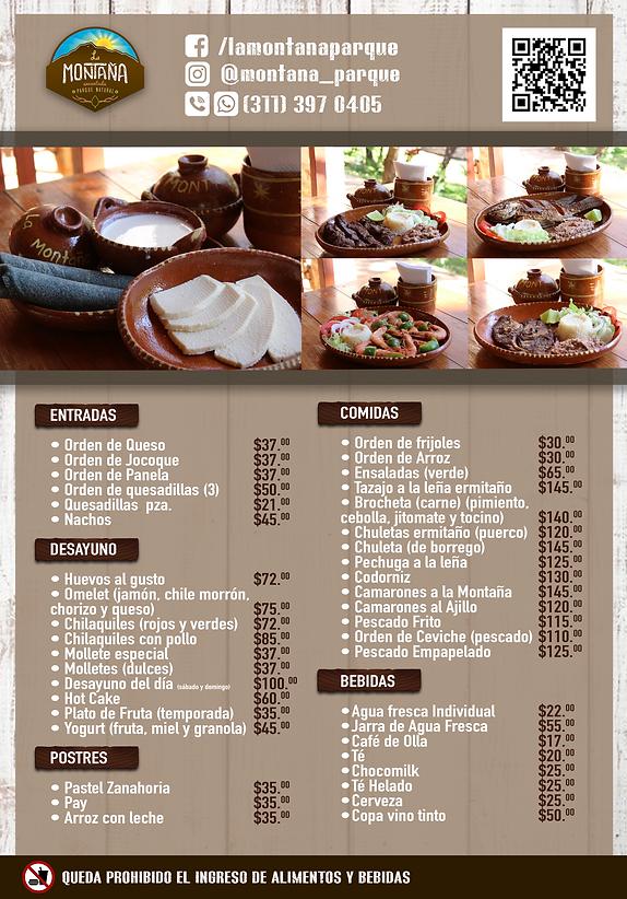 Menu la montaña menu precios.png