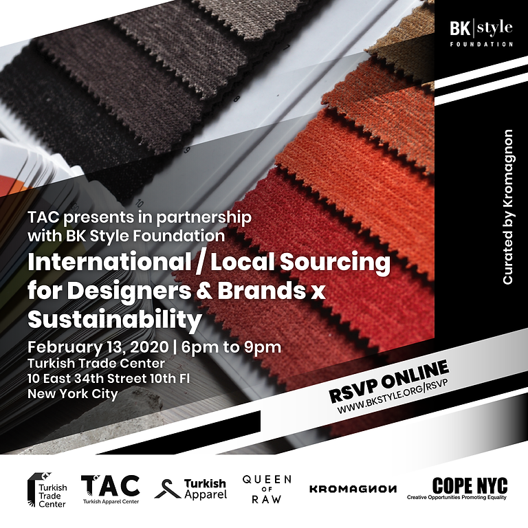 International/Local Sourcing for Designers & Brands x Sustainability