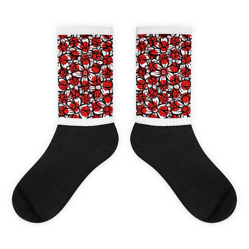 Raid The Red Polka Socks