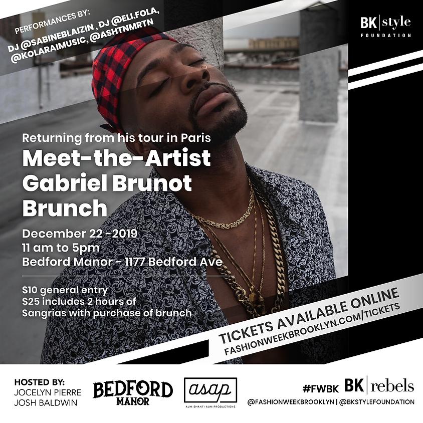 Meet-the-Artist Brunch with Gabriel Brunot