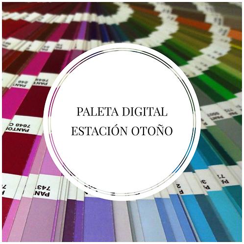 Paleta Digital Estación Otoño