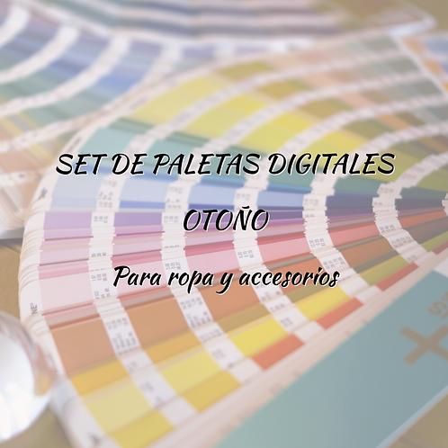 Set de Paletas Digitales Otoño (para ropa y accesorios)