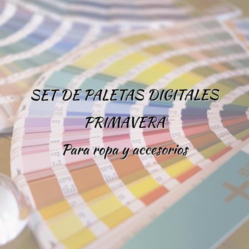 Set de Paletas Digitales Primavera (para ropa y accesorios)