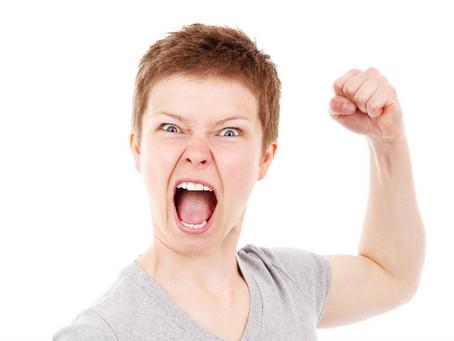 5 emociones fundamentales. El enojo