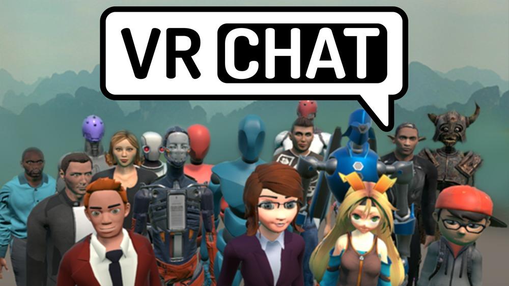 VR Chat игра