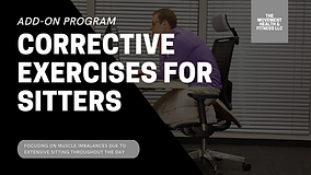 ADD ON PROGRAM CORRECTIVE EXERCISES FOR