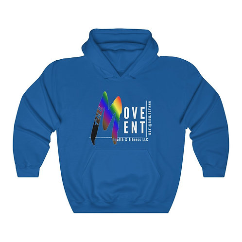 Unisex Heavy Blend Hooded Sweatshirt-Movement Line