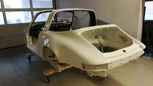Porsche 911 - frisch lackiert