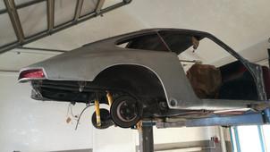 Porsche 912 - die Zerlegung