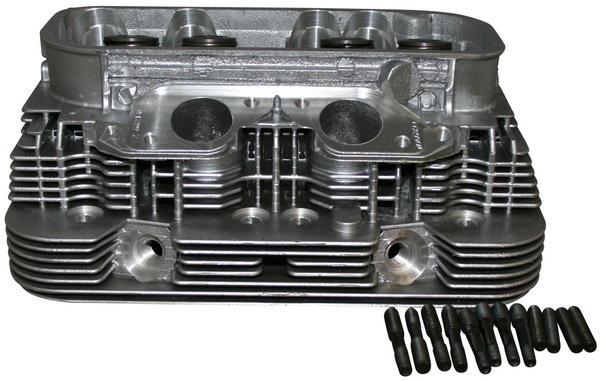 Zylinderkopf vormontiert mit Ventilen und Federn für VW T2